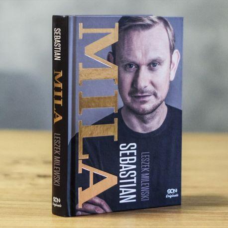Okładka książki Sebastian Mila. Autobiografia w limitowanej wersji SQN Originals na Labotiga.pl