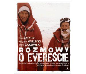Okładka książki Rozmowy na Evereście w księgarni sportowej Labotiga