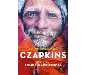 Okładka książki Czapkins. Prawdziwa historia Tomka Mackiewicza w księgarni sportowej Labotiga