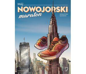 Okładka książki Mój nowojorski maraton w księgarni sportowej Labotiga