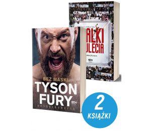 Zdjęcie pakietu Tyson Fury. Bez maski + Walki stulecia. Bohaterowie wielkiego boksu w księgarni sportowej Labotiga
