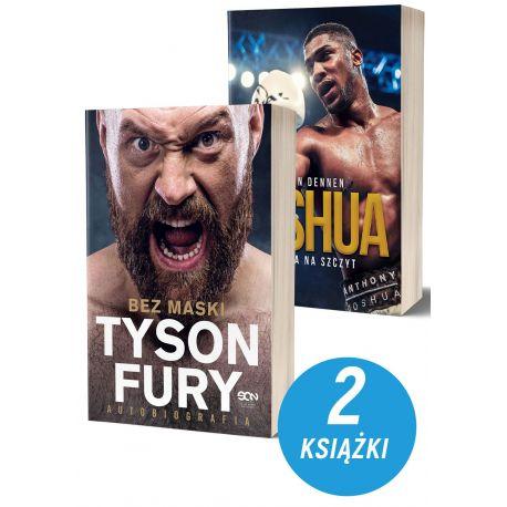 Zdjęcie pakietu Tyson Fury. Bez maski + Joshua. Droga na szczyt w księgarni sportowej Labotiga