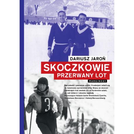 Okładka książki Skoczkowie. Przerwany lot w księgarni sportowej Labotiga