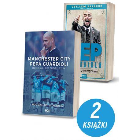 Zdjęcie pakietu Manchester City Pepa Guardioli. Budowa superdrużyny + Pep Guardiola. Sztuka zwyciężania. Wydanie II w Labotiga