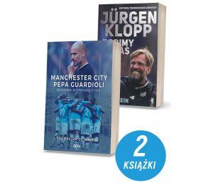 Zdjęcie pakietu Manchester City Pepa Guardioli. Budowa superdrużyny + Jurgen Klopp. Robimy hałas w księgarni Labotiga