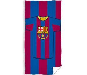 Ręcznik FC Barcelona 30x50cm pasy fcb2001-2