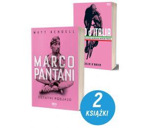 (Wysyłka ok. 14.05) Pakiet: Marco Pantani + Giro d'Italia. Wydanie II