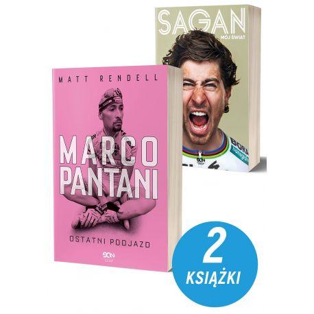 Pakiet: Marco Pantani + Peter Sagan. Mój świat