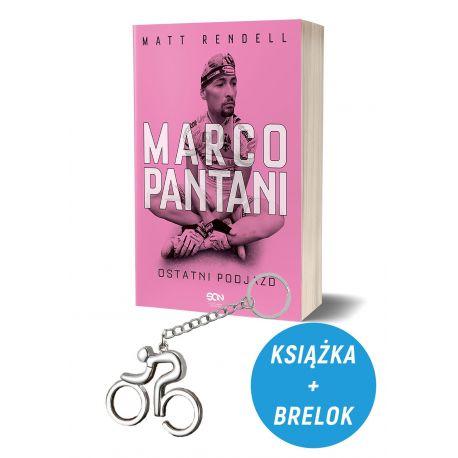 Pakiet: Marco Pantani. Ostatni podjazd + Brelok kolarski