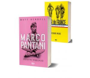 Pakiet: Marco Pantani. Ostatni podjazd + Tour de France. Etapy, które przeszły do historii