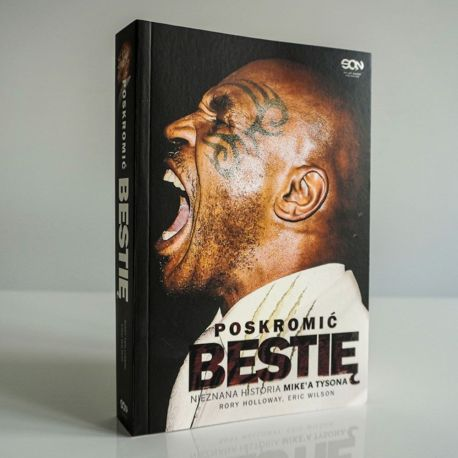 Okładka książki Poskromić bestię. Nieznana historia Mike'a Tysona w księgarni Labotiga