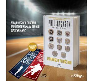 Okładka książki Phil Jackson. Jedenaście pierścieni. Wydanie III w księgarni Labotiga