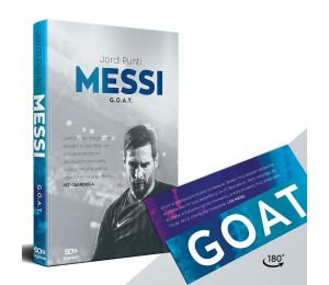 SQN Originals: Messi. G.O.A.T. (zakładka gratis)