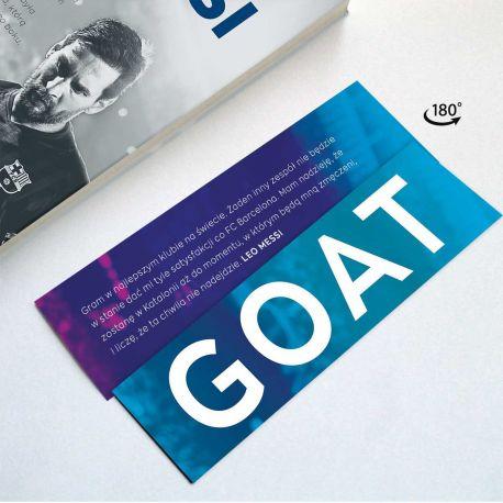 Zdjęcie Zakładki do książki GOAT w księgarni sportowej Labotiga