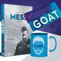 Pakiet: Messi. G.O.A.T. + kubek (zakładka gratis)