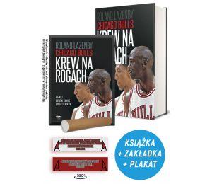 Zdjęcie pakietu: Chicago Bulls. Krew na rogach + zakładka + plakat w księgarni Labotiga