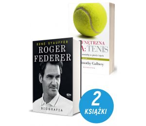 Zdjęcie pakietu Roger Federer. Biografia + Wewnętrzna gra: Tenis w księgarni Labotiga