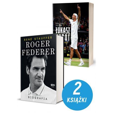 Zdjęcie pakietu Roger Federer. Biografia + Łukasz Kubot. Żyjąc marzeniami. Autobiografia w księgarni Labotiga