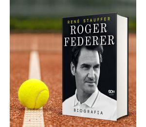 Okładka książki sportowej Roger Federer. Biografia w księgarni Labotiga