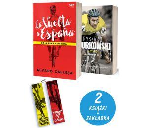 Pakiet: La Vuelta a Espana + Ryszard Szurkowski + zakładka
