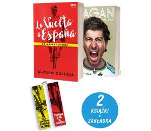 Pakiet: La Vuelta a Espana + Peter Sagan + zakładka