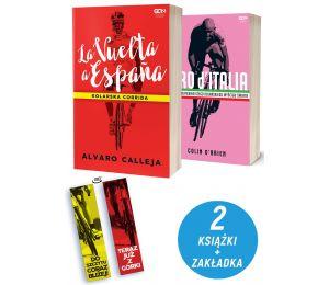 Pakiet: La Vuelta a Espana + Giro d'Italia + zakładka