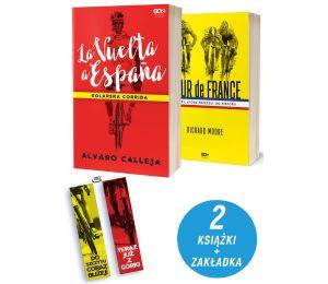 Pakiet: La Vuelta a Espana + Tour de France + zakładka