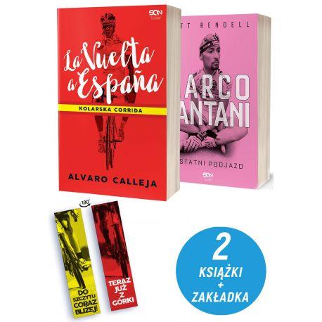 Pakiet: La Vuelta a Espana + Marco Pantani + zakładka
