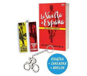 Pakiet: La Vuelta a Espana + zakładka + brelok