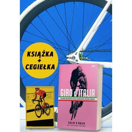 Pakiet: Giro d'Italia + cegiełka wsparcie kolarek za 5zł + zakładka