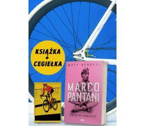 Pakiet: Marco Pantani + cegiełka wsparcie kolarek za 5zł + zakładka