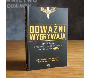 Okładka książki Odważni wygrywają. Lekcje życia i przywództwa od członków sił specjalnych SAS w księgarni Labotiga