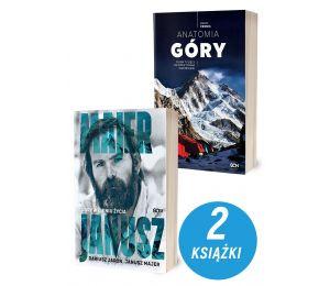 Zdjęcie pakietu Janusz Majer. Góry w cieniu życia + Anatomia góry w księgarni sportowej Labotiga