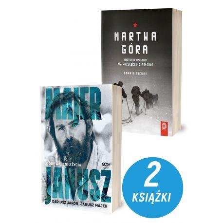 Zdjęcie pakietu Janusz Majer. Góry w cieniu życia + Martwa góra w księgarni sportowej Labotiga