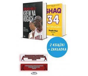 Zdjęcie pakietu: Chicago Bulls. Krew na rogach + zakładka + plakat + Shaq. Bez cenzury w księgarni Labotiga