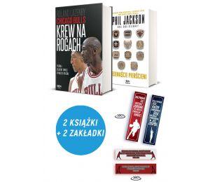 Zdjęcie pakietu: Chicago Bulls. Krew na rogach + zakładka + plakat + Phil Jackson + zakładka Phil Jackson w księgarni Labotiga