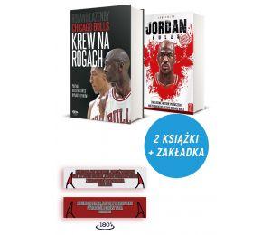 Zdjęcie pakietu: Chicago Bulls. Krew na rogach + zakładka + The Jordan rules w księgarni Labotiga