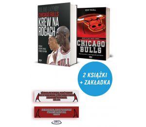Zdjęcie pakietu: Chicago Bulls. Krew na rogach + zakładka + Chicago Bulls. Gdyby ściany mogły mówić w księgarni Labotig