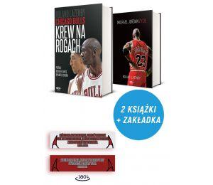 Zdjęcie pakietu: Chicago Bulls. Krew na rogach + zakładka + plakat + Michael Jordan. Życie w księgarni Labotiga
