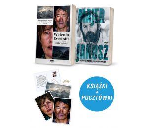 Zdjęcie pakietu W cieniu Everestu + Janusz Majer w księgarni Labotiga