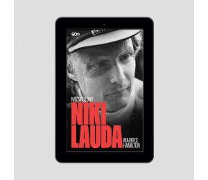 Okładka e-booka Niki Lauda. Naznaczony w księgarni sportowej Labotiga