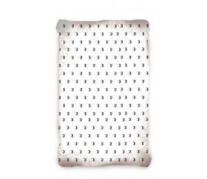 Prześcieradło bawełniane JUVENTUS (90x200 cm) JT187004