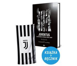 Pakiet: Juventus. Ilustrowana historia + ręcznik bawełniany 70x140 JT183005