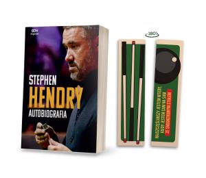 (Wysyłka ok. 20.11.) SQN Originals: Stephen Hendry. Autobiografia (zakładka gratis)