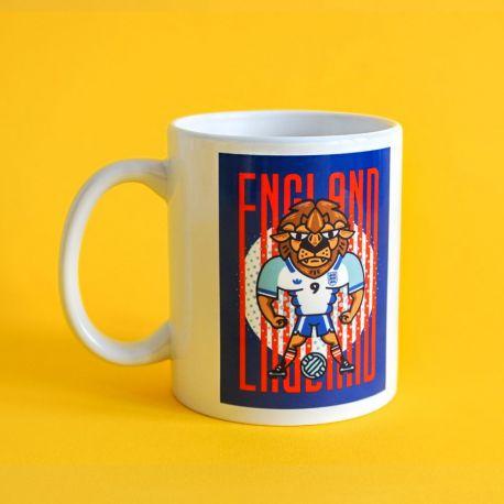 Kubek 360 ml Lew Anglia kolekcja Jan Kallwejt Labotiga