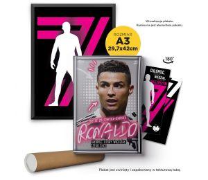 Pakiet: Ronaldo. Chłopiec, który wiedział, czego chce (zakładka gratis) + plakat