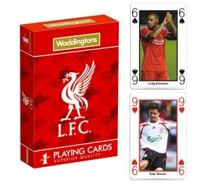 Karty do gry Waddingtons Liverpool Playing Cards