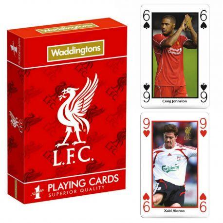 Karty do gry Waddingtons Liverpool Playing Cards