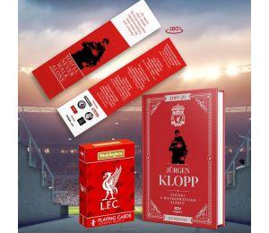 Pakiet: SQN Originals: Jürgen Klopp. Zapiski z mistrzowskiego sezonu (zakładka gratis) + karty