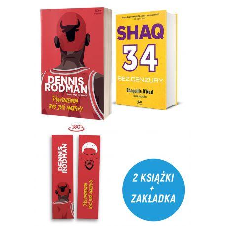 Pakiet: SQN Originals: Dennis Rodman. Powinienem być już martwy (Wydanie II) + SQN Originals: Shaq